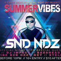 SummerVibes Ft. SND NDZ At Tri Bar McAllen Tx
