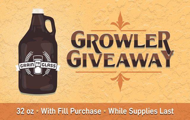 Growler Giveaway