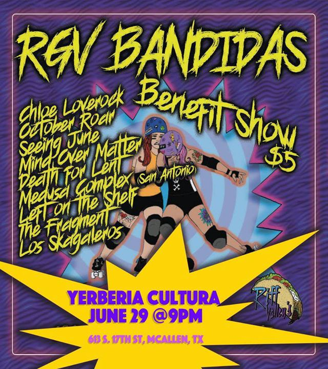 Benefit Show by RGV Bandidas!