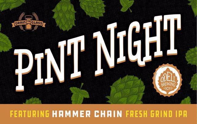 Odell Hammer Chain Pint Night