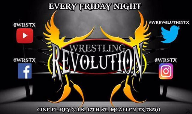 Wrestling Revolution at Cine El Rey