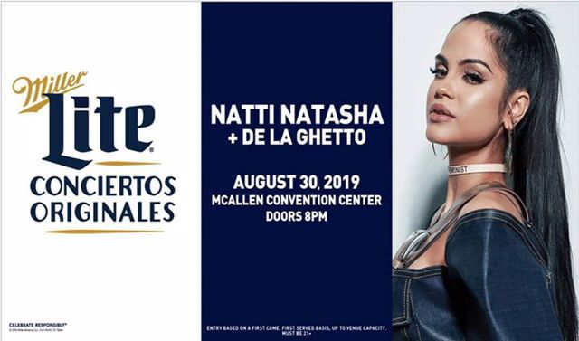 Miller Lite Conciertos Originales Presenta: NATTI NATASHA