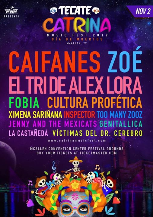 Catrina Music Fest