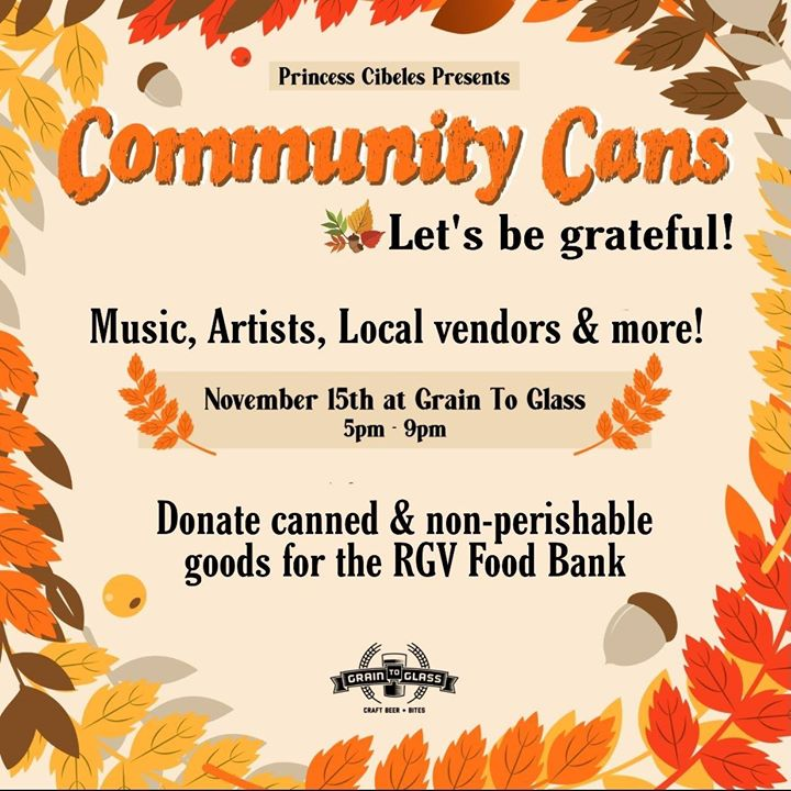 RGV Food Bank Fundraiser: Community Cans