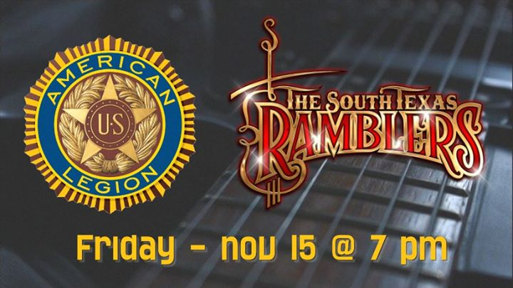 Dance with The South Tx Ramblers at Post 37 American Legion