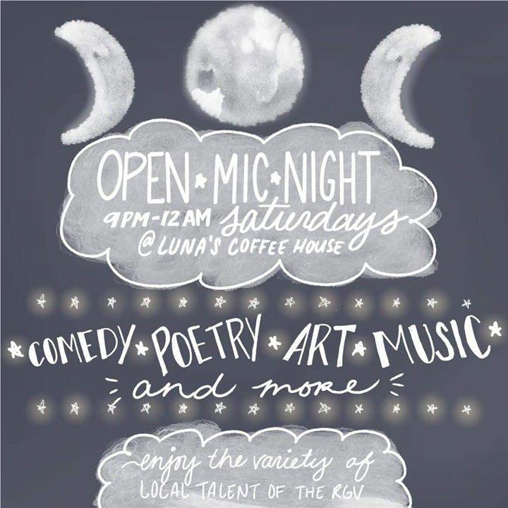 Open Mic Saturday!