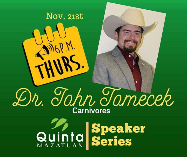 Dr. Tomecek presents: Carnivores