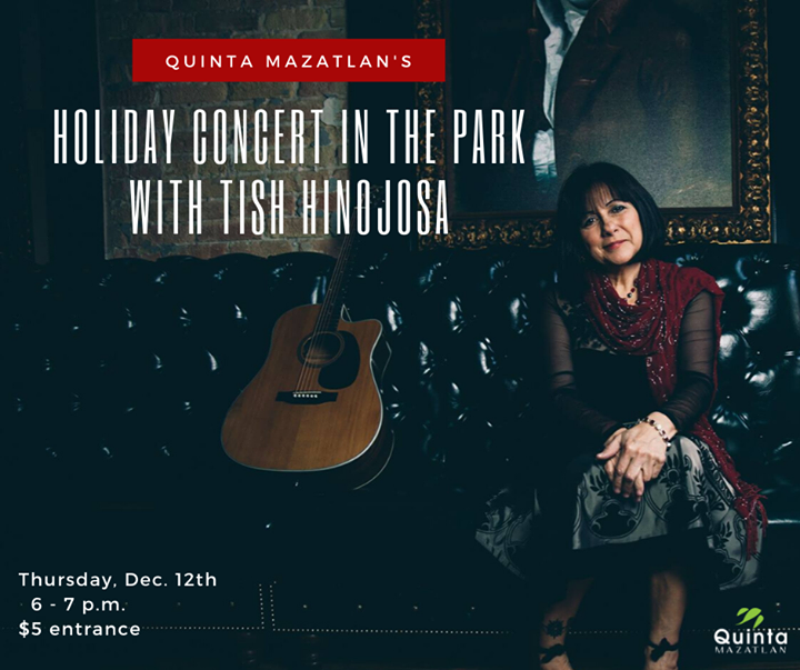 Tish Hinojosa - Holiday Concert in the Park