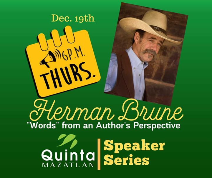 "Herman Brune presents: ""Words"", a storyteller's perspective"
