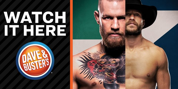 UFC 246: McGregor vs Cowboy Dave & Buster's Watch Party