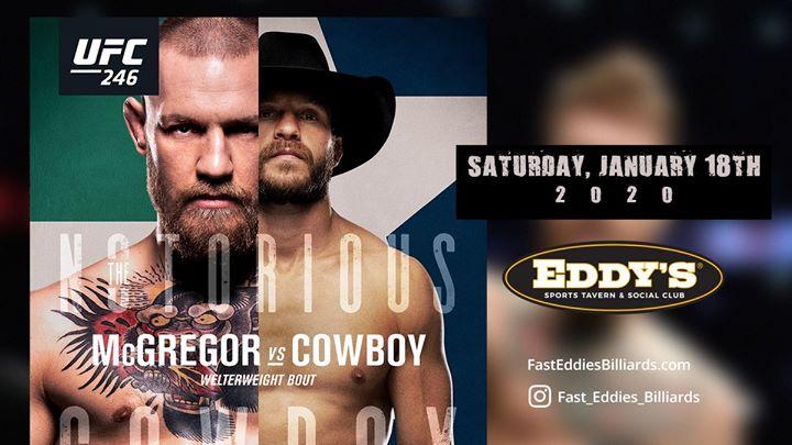 McGregor versus Cowboy UFC 246